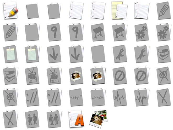 Flat Folders icons