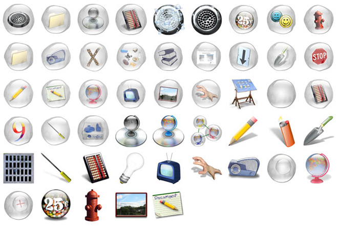 Newsustem icons